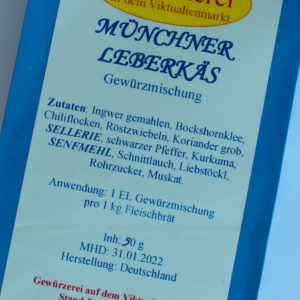 Münchner Leberkäs Gewürzmischung / 90 g