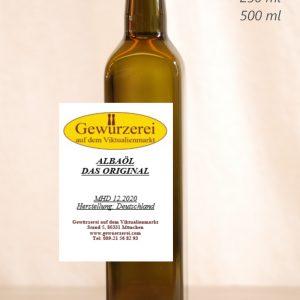 Alba-Öl / Das Original – veganes Öl