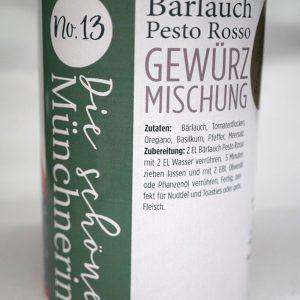 Bärlauch Pesto Rosso Gewürzmischung – Schöne Münchnerin / 100 g