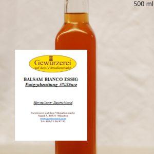 Balsam Bianco Essig – vegan