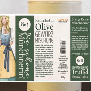 Bruschetta Olive Gewürzmischung – Schöne Münchnerin / 100 g