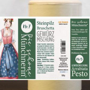Bruschetta Steinpilz Gewürzmischung – Schöne Münchnerin / 100 g