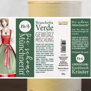 Bruschetta Verde Gewürzmischung – Schöne Münchnerin / 100 g
