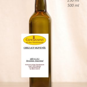 Chili auf Olivenöl