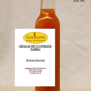 Crema Di Frutta Pfirsich Paprika / vegan – Essig