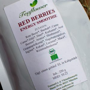 Red Berries Energy Smoothie / 250 g