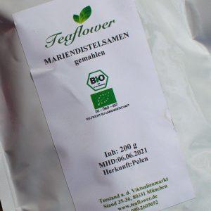 Mariendistel gemahlen / 200 g
