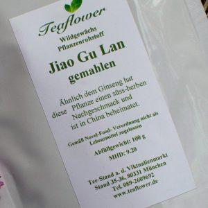 Jiao Gu Lan gemahlen / 100 g