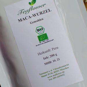 Maca Pulver BIO / 200 g