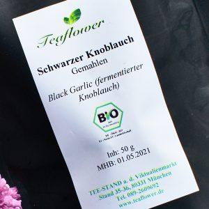 Schwarzer Knoblauch gemahlen / 50g