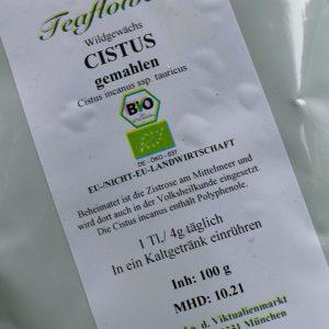 Cistus gemahlen / 100 g