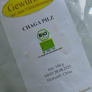 Chaga Pilz / 100 g