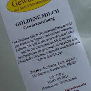 Goldene Milch Gewürzmischung / 100 g