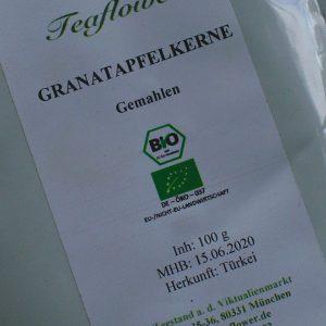 Granatapfelkerne gemahlen / 100 g