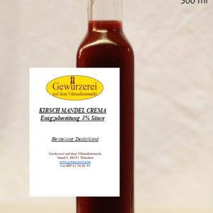 Kirsch-Mandel Crema – Essig