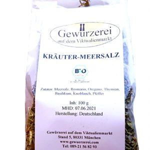 Kräuter-Meersalz BIO / 100 g