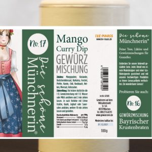 Mango Curry Dip Gewürzmischung – Schöne Münchnerin / 100 g