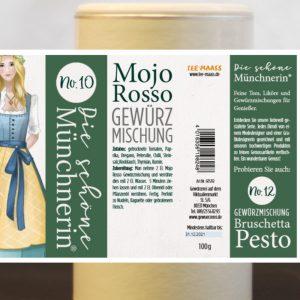 Mojo Rosso Gewürzmischung – Schöne Münchnerin / 100 g