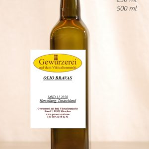 Olio Bravas – veganes Öl