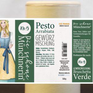 Pesto Arrabiata Gewürzmischung – Schöne Münchnerin / 100 g