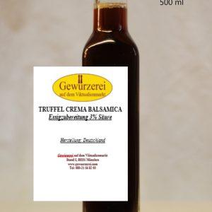 Trüffel Crema Balsamica  / vegan – Essig