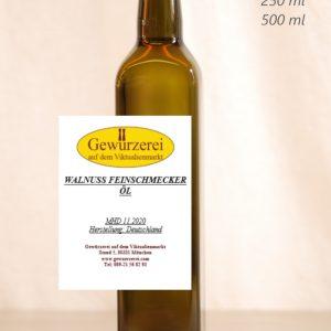 Walnuss Feinschmeckeröl – veganes Öl