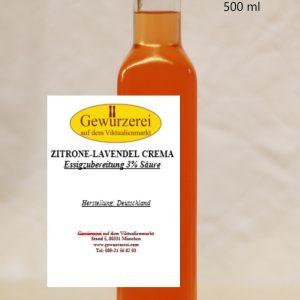 Zitronen  Lavendel Crema / vegan – Essig
