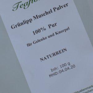 Grünlipp Muschel Extrakt / 100 g