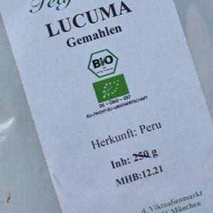 Lucuma gemahlen / 250 g