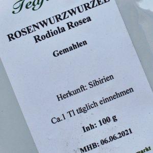 Rosenwurzwurzel / 100 g
