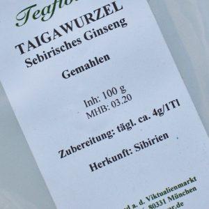 Taigawurzel-Sibirisches Ginseng / 100 g